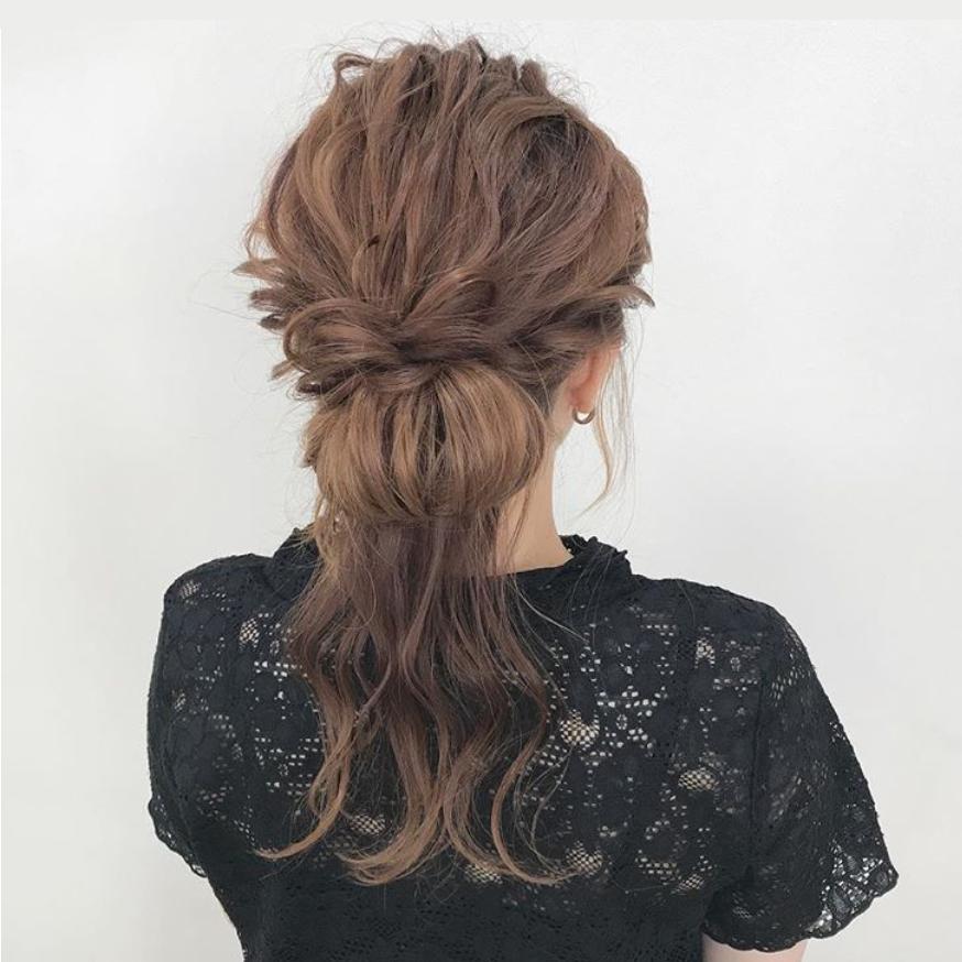 アレンジヘアスタイル